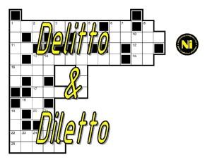delitto diletto logo